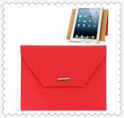 Wholesale Litchi leather Rotation Briefcase Style Protective Case with Holder for iPad mini 1 / 2 / 3