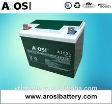 12 V 200Ah scellé aga longue durée de vie batterie batterie poule