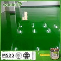 Luz de alta, alta dureza, lavável epoxy pintura de pisos industriais