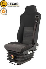 Top quality school bus driver seats with three point safety belt