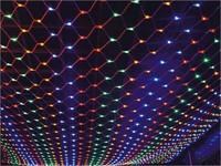 Wedding Party White EU 200 LED Net Lights 3m x 2m LED Giant fairy light Christmas decoration Xmas illumination