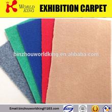 Colourful floral velour carpet