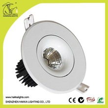 no air pollution CE &RoHS IP44 10w mini led downlight 50000 hours