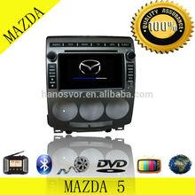 Double Din Mazda 5 Car DVD Player