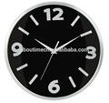 De vidrio de moda flor de reloj de pared, baratos de plástico reloj de pared, los regalos promocionales