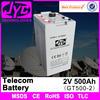 Long life battery 2v 500ah telecom battery 12v deep cycle battery,battery for telecom system