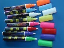 Highlighter liquid chalk 5mm bullet / Regular Tip Dry marker for Board/glass/Window/Cup Enviroment friendly