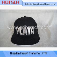 China wholesale websites blank canvas snapback cap/hat