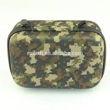 Small hard eva bag for go pro camera; go pro camera bag.