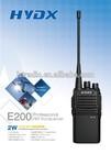 HYDX E200 wireless translation system walki talki police radio communication