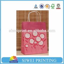 2015 Cheap Natural Decorative new design colorful little paper bag & paper gift bag & craft paper bag on sale