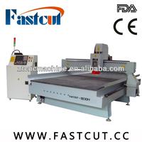 cnc machine center Jinan wave boards sandstones corian ABS auto tool change system cnc engraving cutting machine