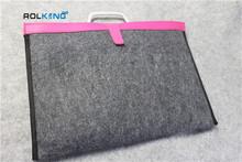 plain wool felt bags