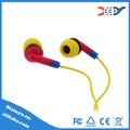 china 2015 venta al por mayor de plástico pvc auriculares piezas para auriculares shure