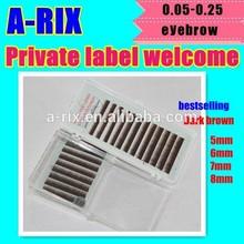 medium quality 2015 bestsellers sexy silk 0.07 brown eyebrow