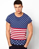 Fancy design silks screen printed t-shirt wholesale