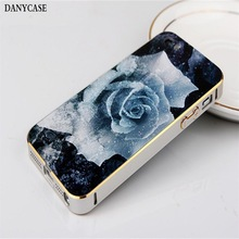 fashion design cute cell phone plastic cover, aliuminum bumper for iphone 5 back cover housing
