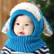 2014 Baby Boys Girls Children Knit Winter Warm Hats Funny Child Hat SV012641