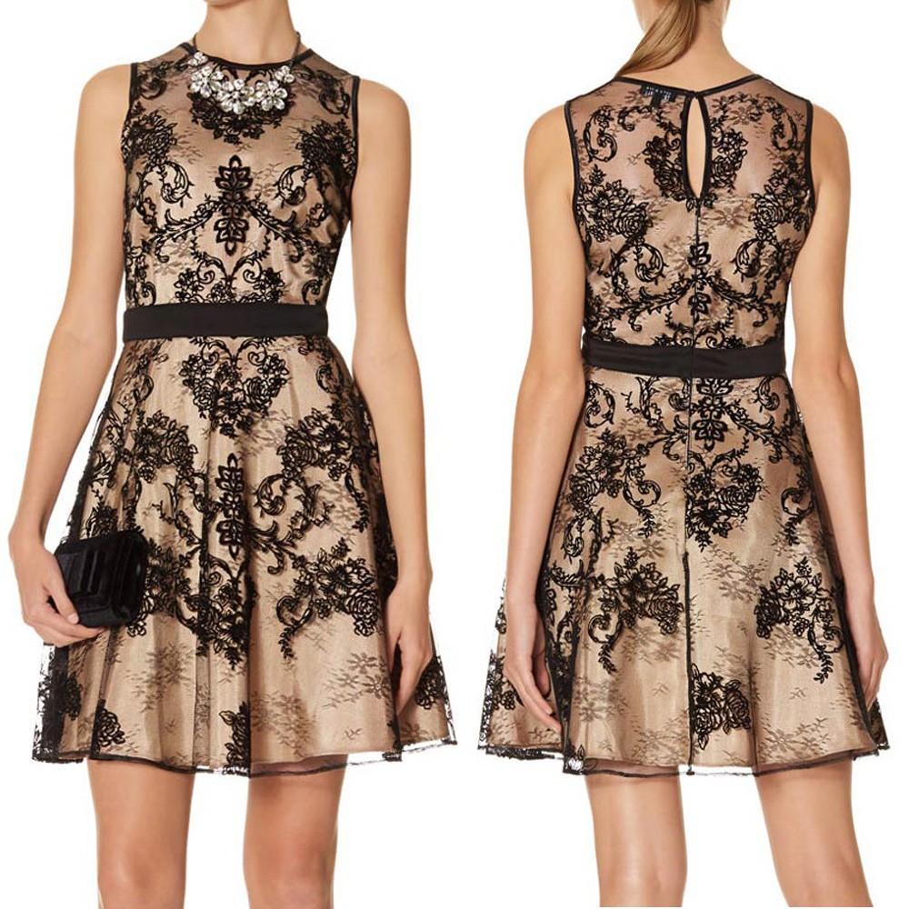 Creative Dress Women Long Maxi Sexy Slim Lace Pattern Party Dress Dresses