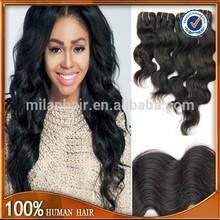 Body wave virgin brazilian hair extension/5a brazilian body wave hair skype:milan.tracy1984