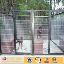 Hot sale HD welded dog kennel 6' x 5' Heavy Duty Black Kennel Panel