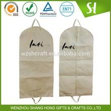 nonwoven travel garment bag/custom suit garment bag