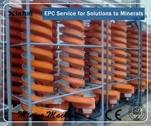 Corrosion Resistant Mine Gravity Separator Equipment Spiral Chute