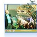 tamaño de la vida animatronic dinosaurio de disfraces para carnaval