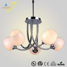 United Arab Emirates chandelier best selling glass pendant lamps lighting wholesales GZ20472-5P