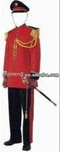 red band dress military ceremonial uniform