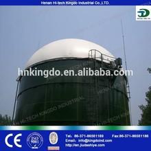 Using napier grass producing biogas, biogas process plant