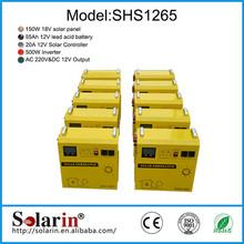 High quality CE ROHS solar dc ac 50hz 2kw qualified price mini solar generator