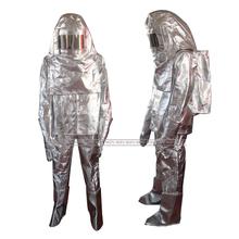 Aluminized fire suit