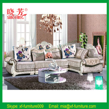 Hot selling new product comfortable Victorian classic sofa set design