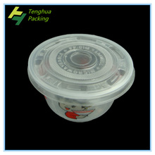 Disposible plastic bowl/plastic cup for take away food