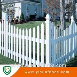 pvc large dog fence garden fence