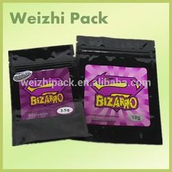 Zencense Herbal Incense Bags/Bizarro Zenbio Herbal Incense Bags With Ziplock Top