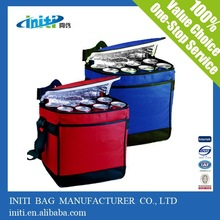 High quality eco -friendly lnsulated lunch bag and promotional wholesale 80gsm non woven fabric insulated cooler bag