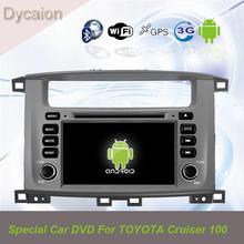 Toyota land cruiser 100 dvd gps/car gps dvd player toyota land cruiser 100 series/android car dvd toyota land cruiser 100