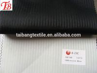 italy men's suit pocketing fabric/100%polyester 100D*100D/110*72/herringbone