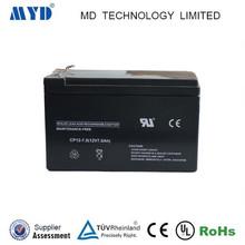 MYD battery manufacturer UPS battery 12v 7ah batteries
