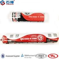Super quality non-corrosive silicone sealant with structural bonding