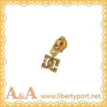 #5 nylon gold plating slider A/L