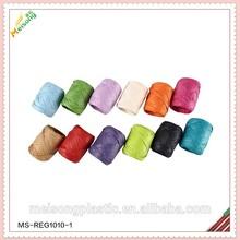 el paquete de regalo de papel de rafia de la cuerda de la cinta de huevo en rollo y para las vacaciones en cajas de pvc paquete