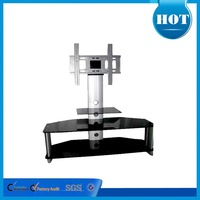high gloss crystal glass tv table plasma lcd tv stand RA010