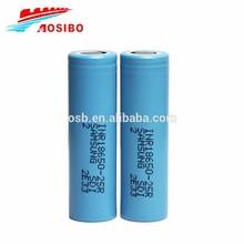 New design samsung lithium ion battery cell 18650 26650 3.7v icr rechargeable samsung lithium ion battery cell 18650 26650
