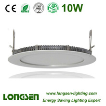 led downlight dimmable with 10W Super thin Panel downlight