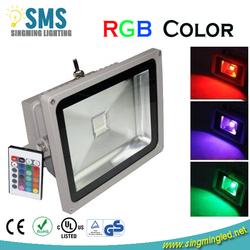 factory supply IP65 Epistar / Bridgelux multi color led flood light