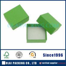 Hot Sale Costom Bark Range Green Ring Box Gift