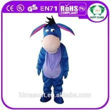 2015 HI CE EVA plush Eeyore mascot costume for sale/eeyore mascot costumes for adult/lovely mascot costume in stock